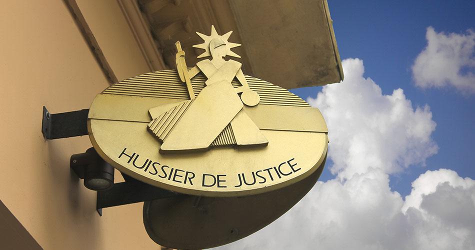 La profession d'HUISSIER de justice